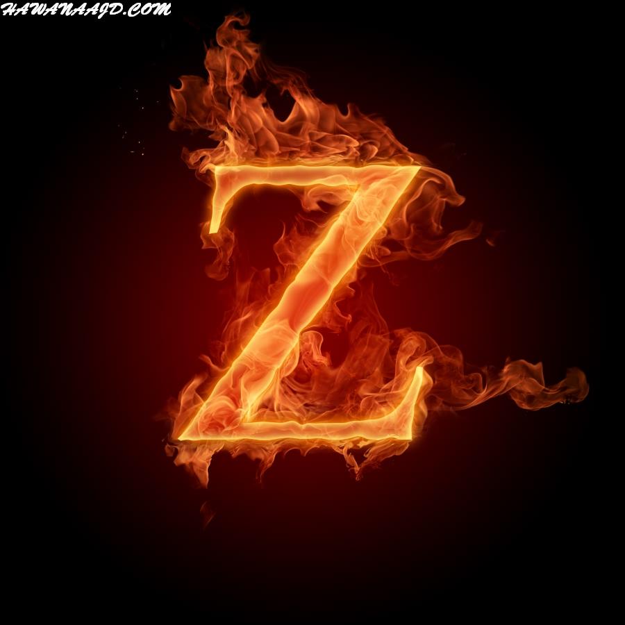 صور حرف Z ناري