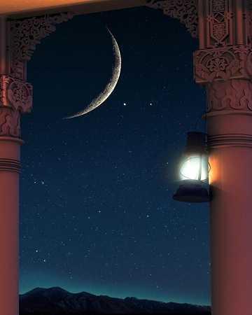خلفيات رمضان سادة