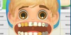 لعبة طبيبة الأسنان