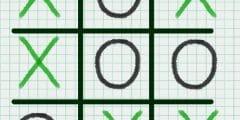 لعبة x o