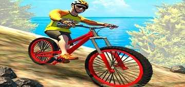 لعبة دراجات جبلية